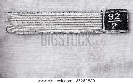 Clothing Label With 92 Size
