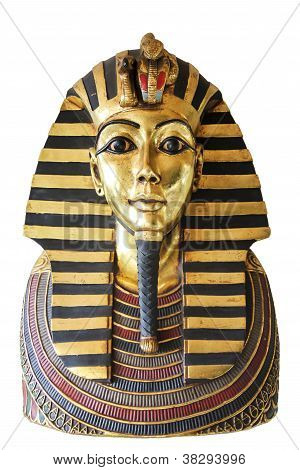 Egyptian king tut Goldene Totenmaske