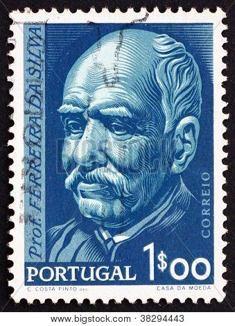Postage stamp Portugal 1956 Prof. Antonio Joaquim Ferreira da Silva