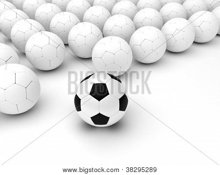 Different Soccer Balls