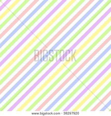 Seamless Pastel Diagonal Stripe