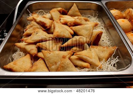 Indian Samosa's On An Ndian Style