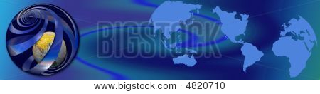 Basic Banner World Wide Business