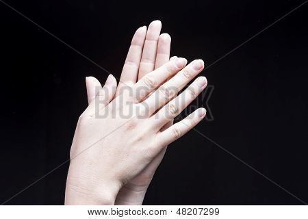 Female Hand Clapping