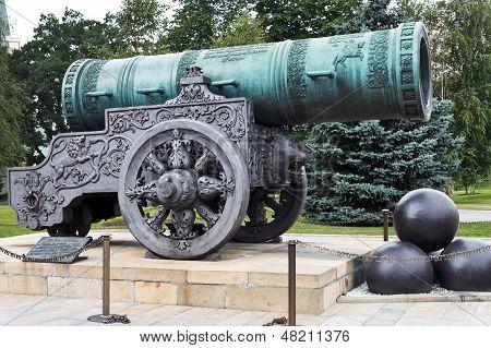 Tsar Kanone im Moskauer Kreml
