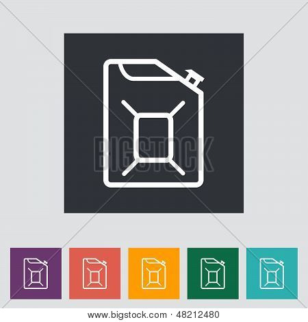 Gas Containers Icon.