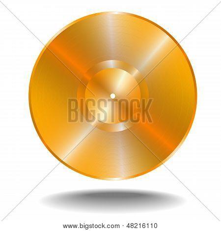 Golden Vinil Disk