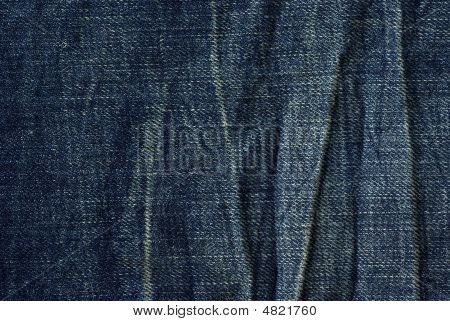 Wrinkled Jeans Texture