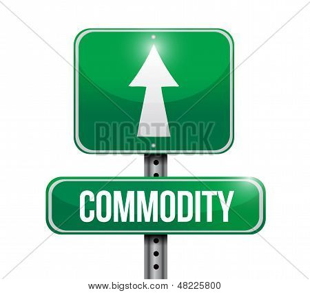 Commodity Road Sign Illustration Design