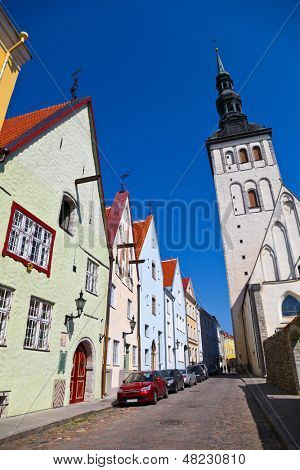 Tallinn, Old Town, Estonia