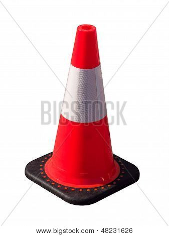 Isolated Traffic Cone