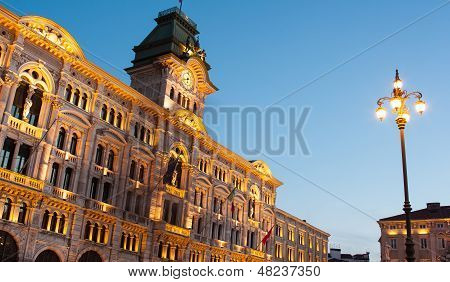 Town Hall Building, Trieste