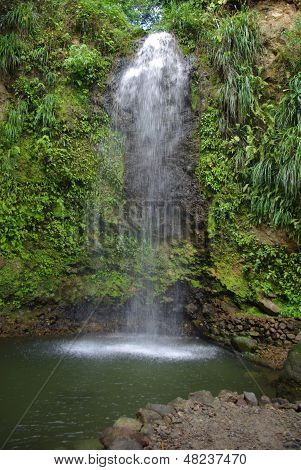 Soufriere Water Falls