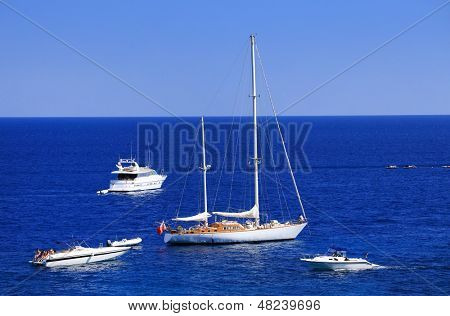 Sailing on the Mediteranean Sea, Europe