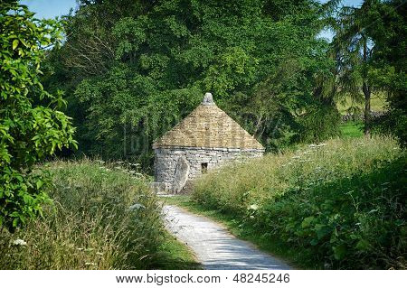 Croatian Hut On The Tissington Trail