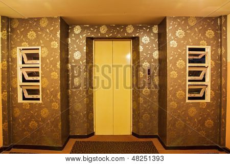 Elevators Of The Hotel