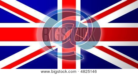 Flag Of United Kingdom Internet Illustration