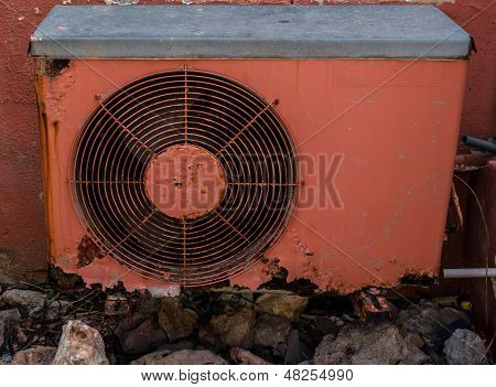 Rusty Air Conditioning