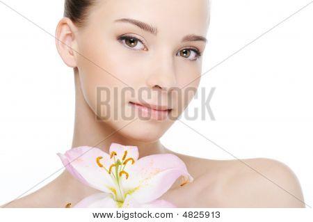 Clean Health Female Face