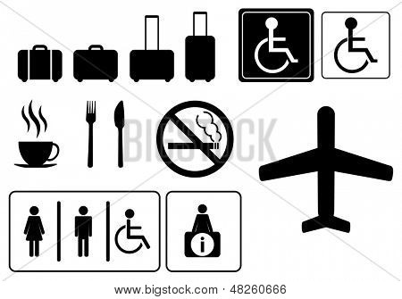 Travel icons,  vector eps.10