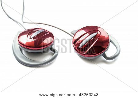 Red Earphones