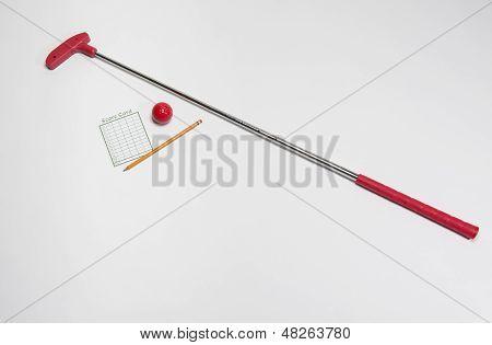 Red Mini Golf Club