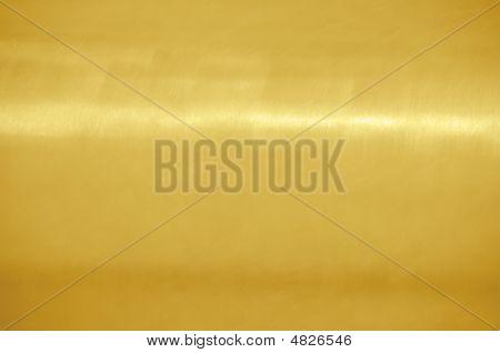 Brushed Golden Metal Texture