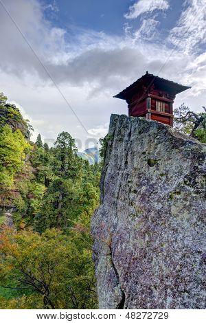 Yamadera Mountain Temple in Yamadera, Yamagata, Japan.