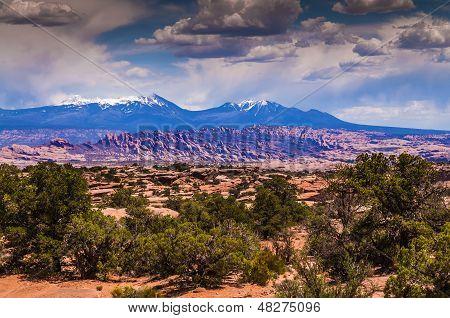 La Salle Mountains