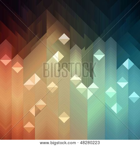 Shiny colorful mosaic background, vector eps8 illustration