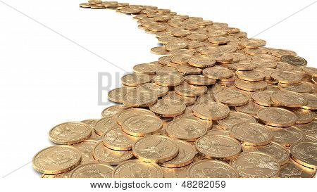 Road Of Coins