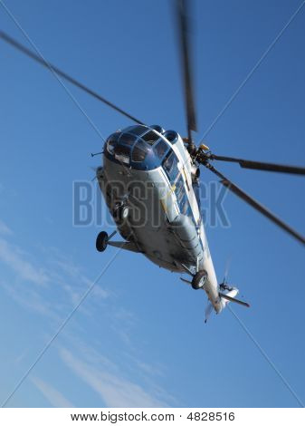 Russian Helicopter Mi8