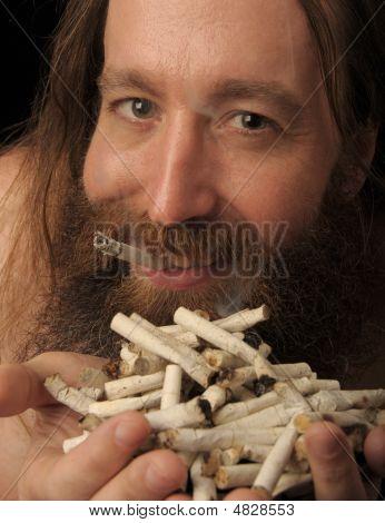 Zigarette Mann