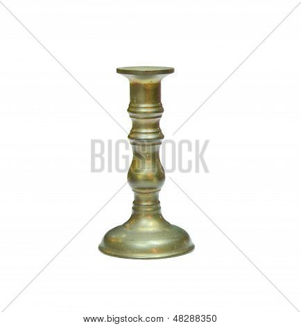 Vintage Candlestick Isolated