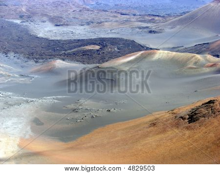 Haleakalea Crater Hawaii