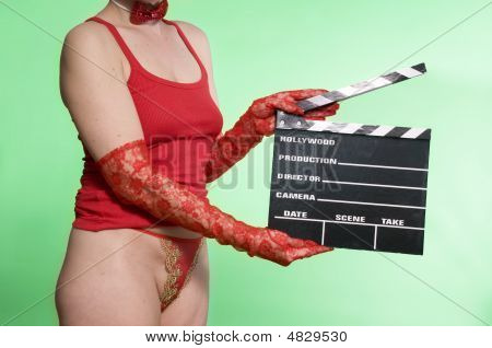Movie Clapper Sexy