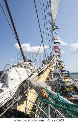 Fore Of a Sail Ship