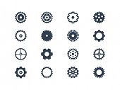 image of time machine  - Gears vector - JPG