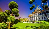 stock photo of royal palace  - Royal grand palace in Bangkok - JPG