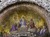 Постер, плакат: Мозаика Базилики Сан Марко в Венеции