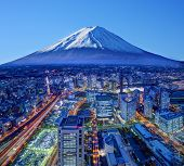 picture of kanto  - Skyline of Mt - JPG
