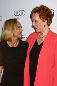 LOS ANGELES - JUL 22:  Kristin Chenoweth, Carol Burnett arrives at
