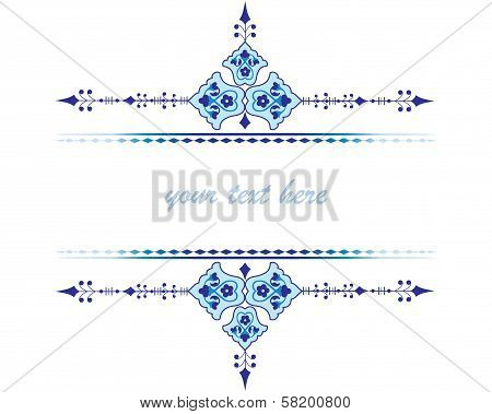Oriental Ottoman Design Two