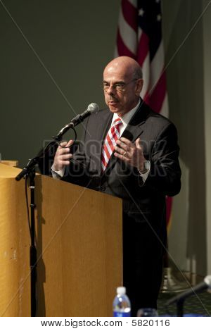 Henry Waxman Climate Change Forum Talk 8