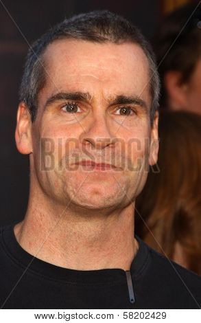 Henry Rollins at the world premiere of