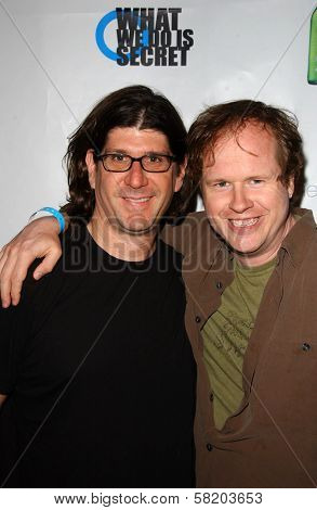 Rodger Grossman and Joss Whedon at the Premiere and Party for