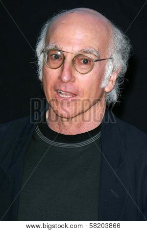 Larry David at the Los Angeles premiere of