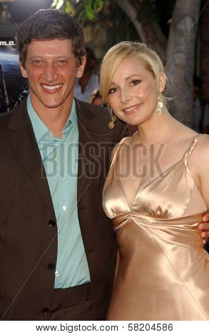Josh Fineman and Elle Travis at the Los Angeles Premiere of