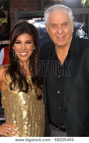 Adrianna Costa and Garry Marshall at the Los Angeles Premiere of