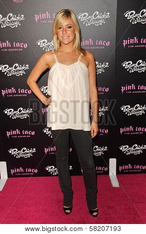 Kristin Cavallari at the opening of a Los Angeles outpost of Pink Taco. Pink Taco, Westfield Century City Mall, Los Angeles, CA. 06-28-07